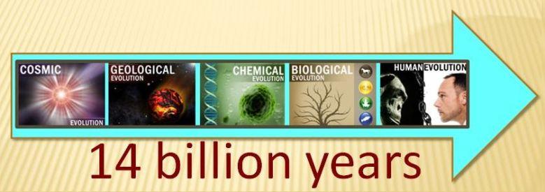 Linha do tempo evolucionista
