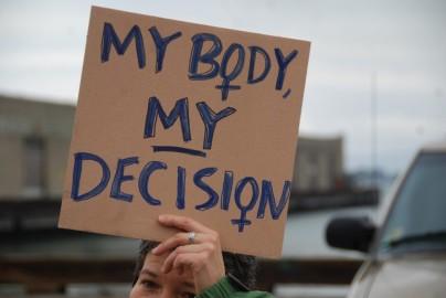 """Meu corpo, minha escolha"""